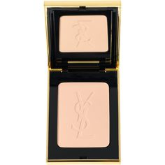 Yves Saint Laurent Beauty Women's Matte and Radiant Pressed Powder-Col ($48) ❤ liked on Polyvore featuring beauty products, makeup, face makeup, face powder, beauty, cosmetics, powder, colorless, yves saint laurent and compact face powder