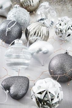 Buy 12 Pack Luxury Baubles from the Next UK online shop Gold Christmas, Christmas Baubles, All Things Christmas, Christmas Home, Christmas Ideas, Glitter Letters, Statement Wall, Metal Stars, Tree Shapes