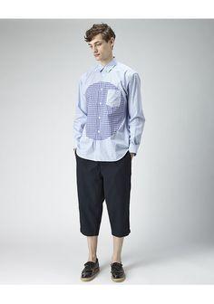 Comme Des Garçons Shirt Man/ Patch Shirt