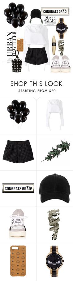 """Graduation After-party"" by cbmalloy ❤ liked on Polyvore featuring E L L E R Y, Buy Seasons, rag & bone, Elise Dray, MCM, Fendi, Alexander Wang and Victoria's Secret"