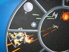 Sacredart - Children's murals - Star Wars Kid's Bedroom 3