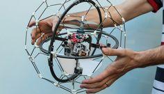 Con ustedes: GimBall, el dron a prueba de sus pilotos