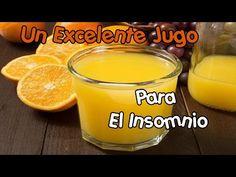 Un excelente jugo para el insomnio - YouTube Pudding, Tableware, Desserts, Food, Youtube, Insomnia, Health Remedies, Juices, Home Remedies