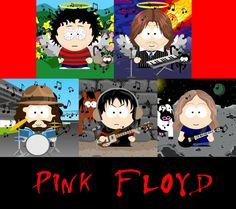 Pink Floyd on Simpsons 9