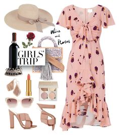 """""""Untitled #1081"""" by m-jelic ❤ liked on Polyvore featuring Cinq à Sept, 711, Gianvito Rossi, MAC Cosmetics, Kendra Scott, Eugenia Kim, girlstrip and WineTastingOutfit"""