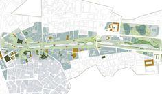 Galería de Segundo Lugar Concurso De Ideas Para La Integración Urbana Del Río Guadalmedina - 11
