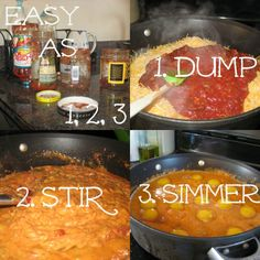 Saturday Breakfast for the whole gang!  Mexican Eggs and fixings. Easy to prepare.