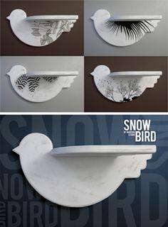 bird shelve