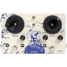 Walrus Audio Janus Tremolo Fuzz Boutique Guitar Pedal