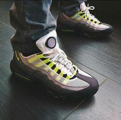 Compre With Box Nike Airmax 95 Air Max 95 ESSENTIAL 95 Aniversario 20 Zapatillas De Deporte Para Hombre De Neón Diseñador Deportivo 95s Hombres