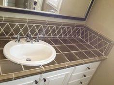 Master bathroom, bathroom ideas, bathroom makeovers, bathroom remodeling, b Bathroom Makeovers, Diy Bathroom Remodel, Bathroom Remodeling, Kitchen Remodel, Bathroom Countertops, Bathroom Floor Tiles, Bathroom Sinks, Bathroom Ideas, Cheap Toilets