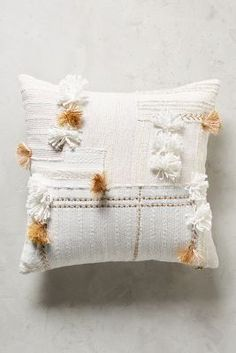 Tufted Yoursa Pillow | Anthropologie