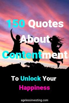 These quotes about contentment to unlock your happiness are an inspiration to be thankful for your life and all your blessings. Remember this, to have faith that your gratitude and positive thoughts will help you in life to grow your happiness and improve New Quotes, Family Quotes, Happy Quotes, Bible Quotes, Words Quotes, Positive Quotes, Love Quotes, Motivational Quotes, Funny Quotes