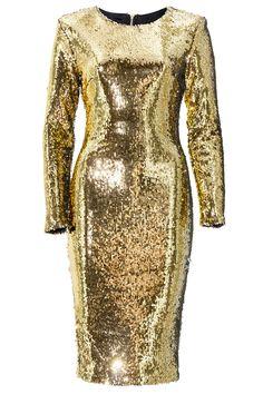 415d44ac98cb Golden dress by Stefanie Renoma. Robe à sequins réversibles dorés Stefanie  Renoma.