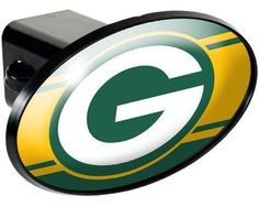 """NFL Green Bay Packers Trailer Hitch Cover by Great American Products. $14.50. The trailer hitch cover is constructed of durable ABS plastic and fits any 2"""" receiver.. Constructed of durable ABS plastic. USA. The perfect accessory for virtually any vehicle with a towing package.. Save 19% Off!"""