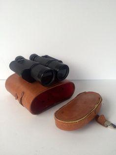 Vintage Binoculars Thorensen German Made Brown by StoreFourandMore