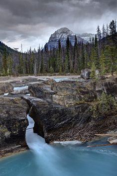 Natural Bridge Yoho National Park British Columbia Canada