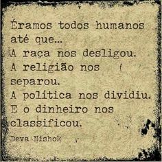 Humanos separados