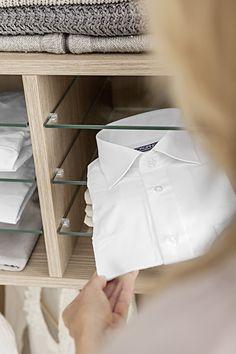 Superb Wie Sie sich den Traum vom begehbaren Kleiderschrank erf llen Vorhandenen Platz effektiv nutzen Oder