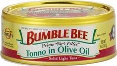 Bumble Bee Prime Fillets Light Tuna Tonno in Olive Oil 5oz Can (Pack of 6) * Awesome product. Click the image at  : Quick dinner ideas