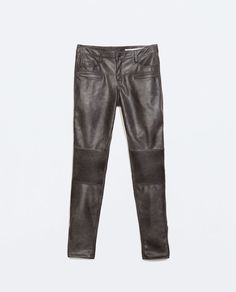 ZARA - WOMAN - BIKER TROUSERS