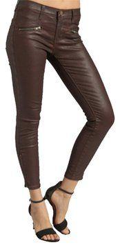 current elliot Coated Denim Skinny Jeans size 29 NEW!