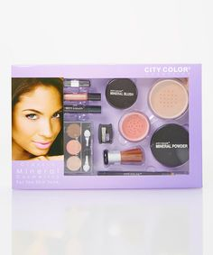Another great find on #zulily! Tan Mineral Cosmetic Set by City Color Cosmetics #zulilyfinds