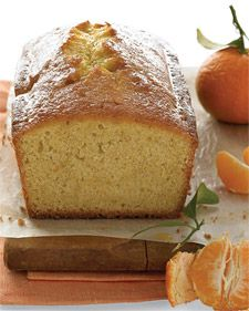 This loaf gets its sunny sweetness from clementines. The fruit's segments, zest, and juice are mixed into the batter, and there's more juice in the glaze that's brushed on top. Vanilla-bean seeds add heady fragrance. Serve slices with cups of tea or with ice cream for dessert.