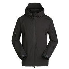 Men Military Tactical Jacket Waterproof Warm Coat Windbreaker Camouflage  Hooded #Unbranded #Windbreaker