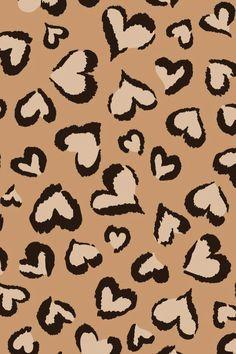Cheetah print wallpaper for iphone gallery images) Cheetah Print Wallpaper, Look Wallpaper, Hippie Wallpaper, Brown Wallpaper, Cute Patterns Wallpaper, Heart Wallpaper, Iphone Background Wallpaper, Aesthetic Iphone Wallpaper, Aesthetic Wallpapers