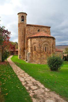 Iglesia de San Martín de Elines. Cantabria.