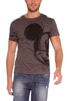 Desigual Letters T-Shirt with Mickey print! Disney Collection