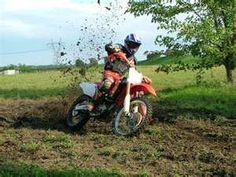 Jacob loves riding dirt bikes!