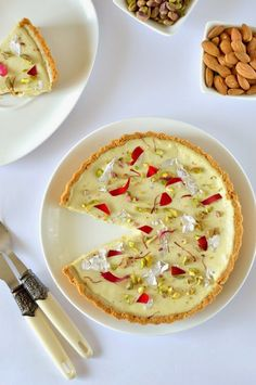 No bake thandai cheesecake - on the festival of colours Recipe. So it is the festival of colours again,yes holi is almost here. And festivals are incomplete ...