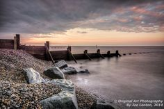 This image of the sunrise at Sheringham beach won me a Highly Commended award in the Landscapes section of the Societies April 2014 competition. The sun was actually rising off to the right, this is the light reflecting off the clouds Image Photography, Landscape Photography, Competition, Sunrise, Awards, Landscapes, Clouds, Gallery, Beach