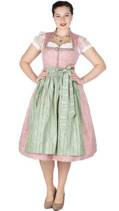 15998 Tramontana 70er Dirndl rose grün Dirndl Rose, Vintage, Medium, Fashion, Tops, Blouse, Cotton, Gowns, Moda