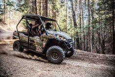 New 2017 Kawasaki Teryx® Camo ATVs For Sale in North Carolina.