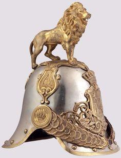 Bavarian Hartschier Leibgarde helmet