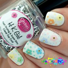 Introducing POLISHERS INC. - Something About Me - My Love for Floral Nail Art and Colors