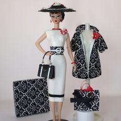 "OOAK Handmade Vintage Barbie Silkstone Fashion by Roxy "" Ginessa "" | eBay"