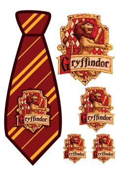 Harry Potter: ideia para gravata (competição entre as casas)