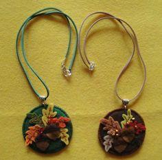 Ogrlice od filca