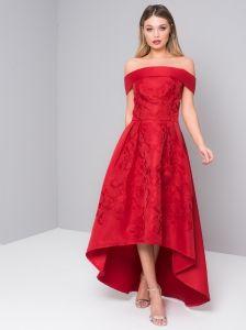 fb5e44b419 Chi Chi London Heloise sukienka wieczorowa midi asymetryczna
