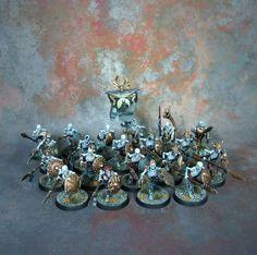 Age of Sigmar | Undead | Vampire Counts | Skeleton Warriors #warhammer…