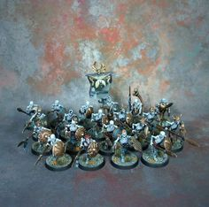 Age of Sigmar | Undead | Vampire Counts | Skeleton Warriors #warhammer…