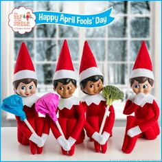 April Fools' Day Broccoli Pops – The Elf on the Shelf