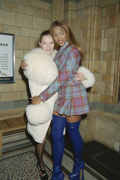 …And of course, BFF Naomi Campbell. | Reminder: Kate Moss Was The Coolest Girl Of The '90s