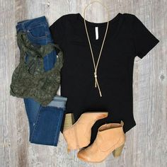 LOVE ALL! This is practically perfect for meetings. The necklace is simple but dresses it up a bit. The boots are cute (don't adore the stitching but love the shape). Good for a hot day meeting. Wouldn't wear the bralette at a meeting but would just in normal work day.