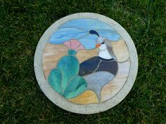 I made this stepping stone for a friend.