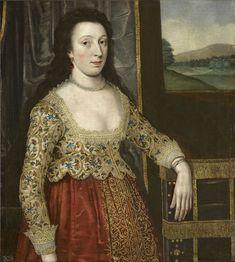 British School — Portrait of an Unidentified Lady,  c.1620  : Royal Collection Trust, Her Majesty Queen Elizabeth II . UK   (1795x2000)